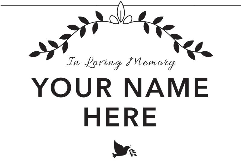 Write Your Own Obituary